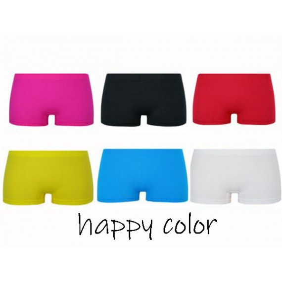 Naadloos Microfiber boxershorts Dames Happy Color 6 PACK €14,95