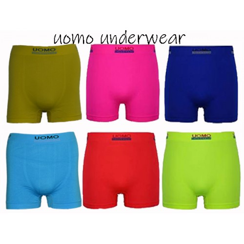 UOMO MICROFIBER BOXER SHORTS HAPPY COLOUR MAN 6 PACK €14,95